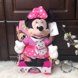 Disney Minnie Plush & Throw Blanket